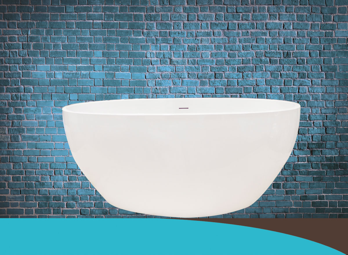Strato Micro | Free Standing Bath, Hand made in the UK, Contemporary ...